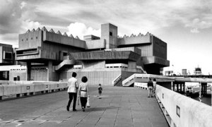 The Hayward Gallery on London's South Bank